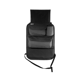 Seat organizer 2in1, sort - Tuloko